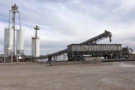 Salt Truck Loading